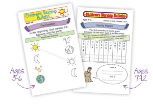 kids bulletins